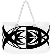 Digital Mono 13 Weekender Tote Bag