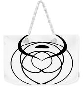 Digital Mono 6 Weekender Tote Bag