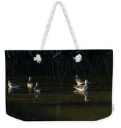 Digital Oil Of Sandpipers Weekender Tote Bag