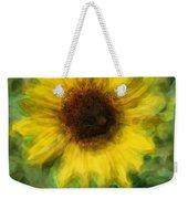 Digital Painting Series Sunflower Weekender Tote Bag
