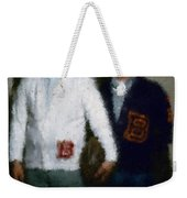 Digital Painting The Lettermen Weekender Tote Bag