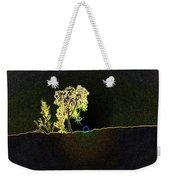 Digital Sunset Weekender Tote Bag