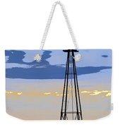 Digital Windmill-vertical Weekender Tote Bag