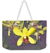Digitised Orchids Weekender Tote Bag