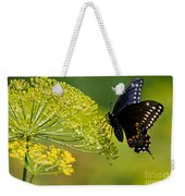 Dill And The Butterfly Weekender Tote Bag