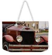 Dillon Montana Vintage Fire Truck Weekender Tote Bag