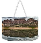 Dillon Pinnacles In Blue Mesa Weekender Tote Bag