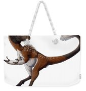 Dilong Paradoxus All Fluffed Weekender Tote Bag