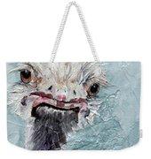 Dimples - An Ostrich Weekender Tote Bag