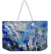Dinant In Blue Weekender Tote Bag
