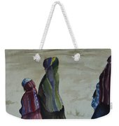 Dineh Leaving The Trading Post Weekender Tote Bag