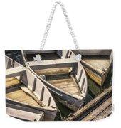 Dinghies Dockside Faded Weekender Tote Bag