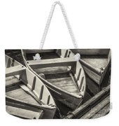 Dinghies Dockside Bw Weekender Tote Bag