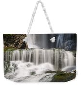 Dingmans Falls Close Up Weekender Tote Bag