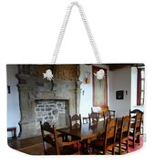 Dining At Donegal Castle Weekender Tote Bag