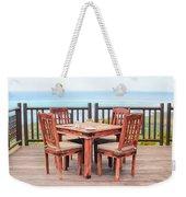 Dining Table Weekender Tote Bag by Tom Gowanlock