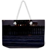 Dinner At The Pier Weekender Tote Bag
