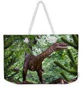 Dino In The Bronx Three Weekender Tote Bag