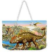 Dinosaur Panorama Weekender Tote Bag