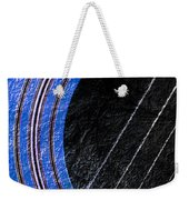 Diptych Wall Art - Macro - Blue Section 1 Of 2 - Giants Colors Music - Abstract Weekender Tote Bag