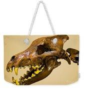 Dire Wolf Skull Fossil Weekender Tote Bag