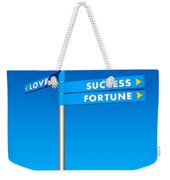 Directions To Goals Weekender Tote Bag