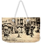 Directoire Gown - Philadelphia Mummers 1909 Weekender Tote Bag