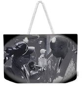 Director Martin Ritt And James Earl Jones Number 2 The Great White Hope Set Globe Arizona 1969-2013 Weekender Tote Bag