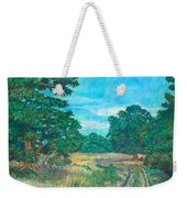 Dirt Road Near Rock Castle Gorge Weekender Tote Bag