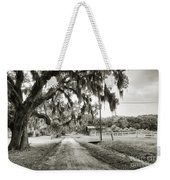 Dirt Road On Coosaw Plantation Weekender Tote Bag