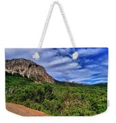 Dirt Roads And Aspen Forest In Colorado Weekender Tote Bag