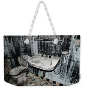 Dirty Bathroom Weekender Tote Bag