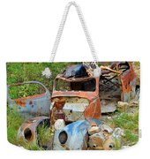 Disaster Weekender Tote Bag