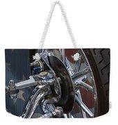 Disc Brakes Hot Rod Weekender Tote Bag
