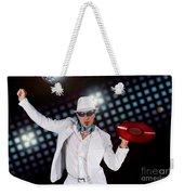 Disco Dj Weekender Tote Bag