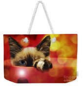 Disco Kitty 1 Weekender Tote Bag