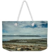 Low Tide Along The Discovery Passage Weekender Tote Bag