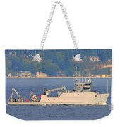 Discovery Bay Military Ops Ship Weekender Tote Bag