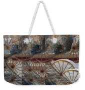 Discovery Of The Wheel Weekender Tote Bag