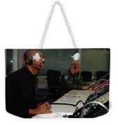Discovery Space Shuttle Control Room Weekender Tote Bag