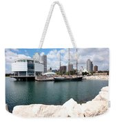 Discovery World Milwaukee Wisconsin Weekender Tote Bag
