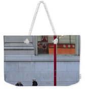 Discuss Our Bus Weekender Tote Bag
