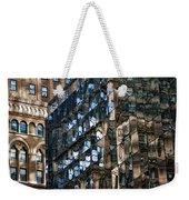 Disjointed Weekender Tote Bag