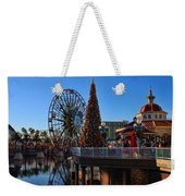 Disney California Adventure Christmas Weekender Tote Bag