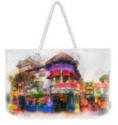 Disney Clothiers Main Street Disneyland Photo Art 01 Weekender Tote Bag