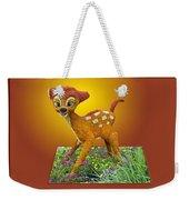 Disney Floral 03 Bambi Weekender Tote Bag