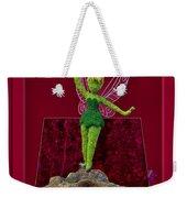 Disney Floral Tinker Bell 02 Weekender Tote Bag by Thomas Woolworth
