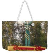 Disneyland Downtown Disney Signage 01 Weekender Tote Bag