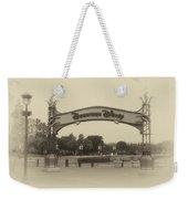 Disneyland Downtown Disney Signage 02 Heirloom Weekender Tote Bag