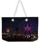 Disneyland Ferris Wheel At Dark Weekender Tote Bag
